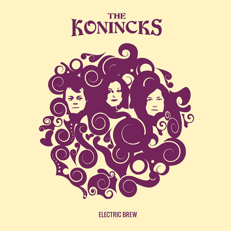The Konincks Electric Brew Cover Blues Rock