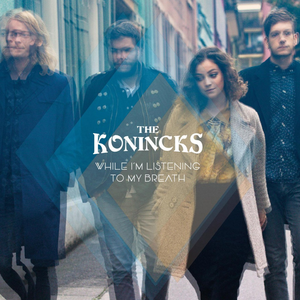 The Konincks While I'm listening to my breath Front Cover